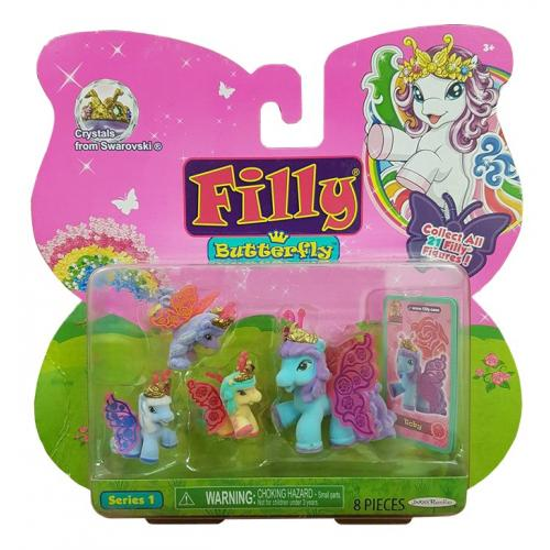Filly Butterfly Pony Series 1 Toby 4 Pack