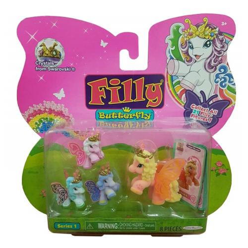 Filly Butterfly Pony Series 1 Rhett 4 Pack