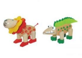 Kaper Kidz Wooden Flexible Animals