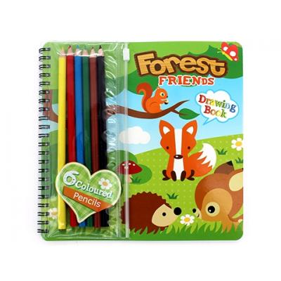Forest Friends Drawing Book