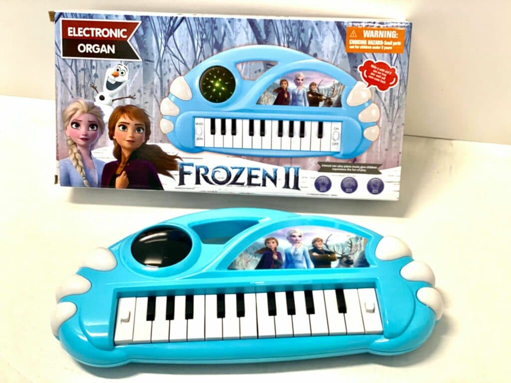 Frozen 2 Mini Electronic Organ