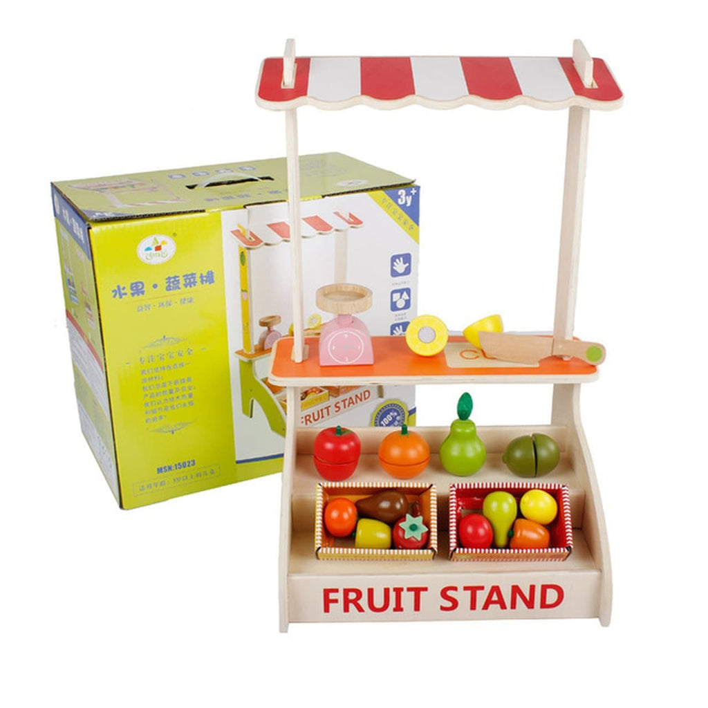 Wooden Fruit & Vegetable Stall