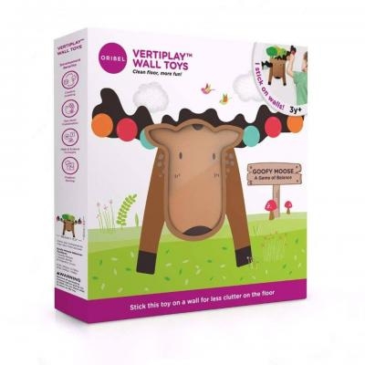 Oribel Vertiplay Wall Toys Goofy Moose
