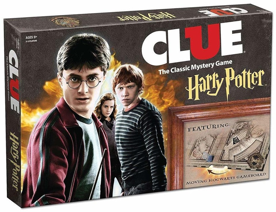 Harry Potter Clue The Classic Mystery Game