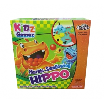 Marble-Swallowing Hippo Game