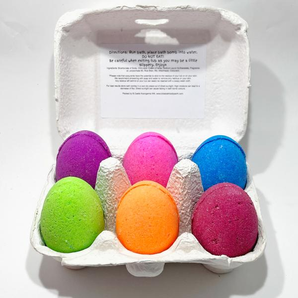 Easter Egg Shaped Bath Bombs