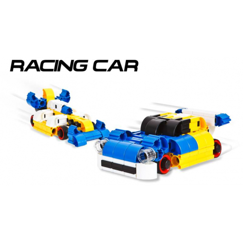 IQ Key Block Racing Car