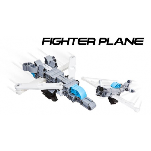 IQ Key Block Fighter Plane