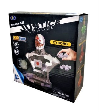 Justice League The New 52 Cyborg 3D Puzzle