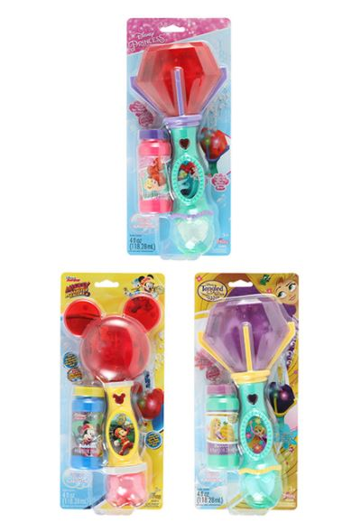 Disney Lights & Sound Bubble Wand