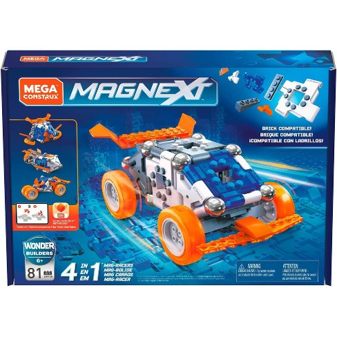 Mega Construx Magnext 4 in 1 Mag-Racers