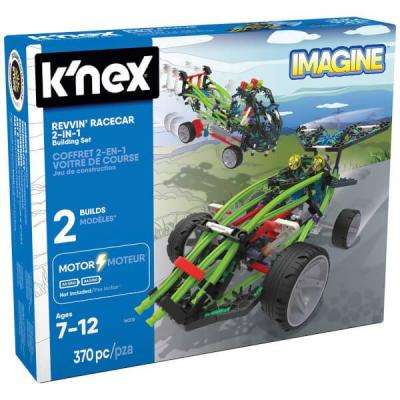Knex Revvin Racecar 2-In-1 Motorized Building Set