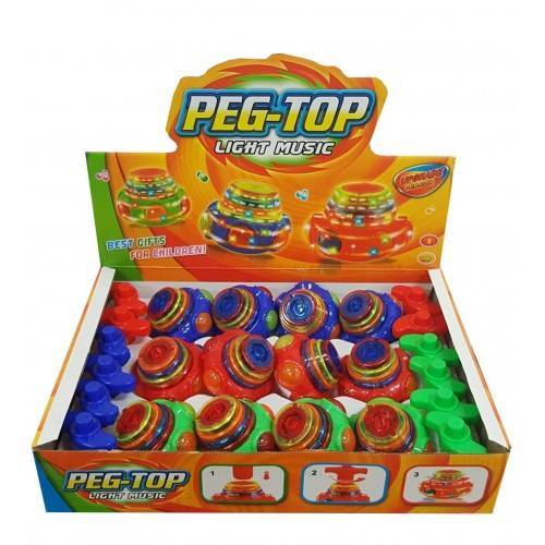 Peg Top Spinner