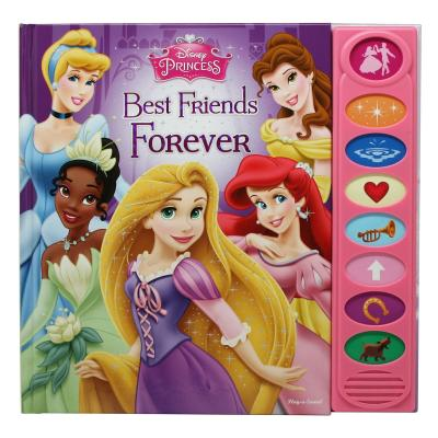 Disney Princess Best Friends Forever Play-A-Sound Book