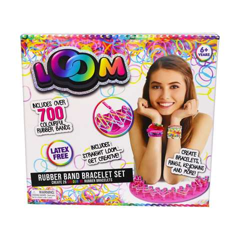 Loom Rubber Band Bracelet Set