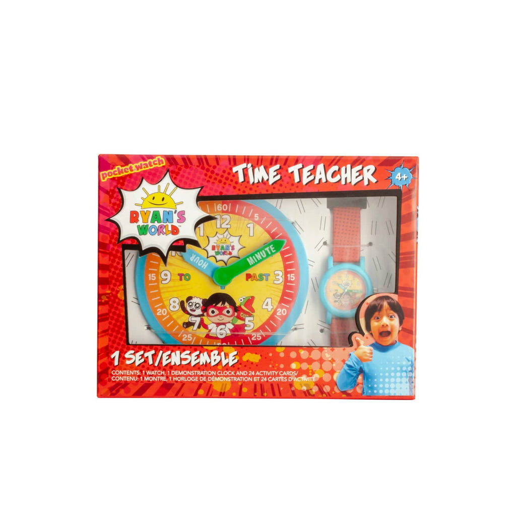 Ryan's World Time Teacher