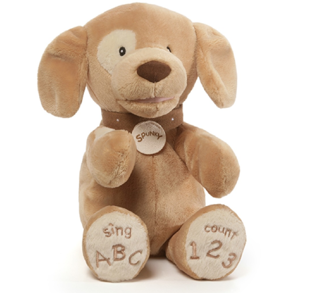 Baby Gund Animated ABC 123 Spunky Pup