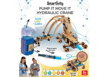 Smartivity Pump It Move It Hydraulic Crane