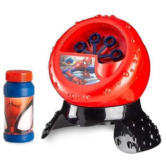 Marvel Spider-Man Bubble Blower