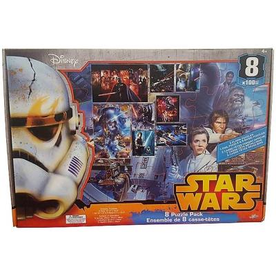 Disney Star Wars Giant 8 Puzzle Pack