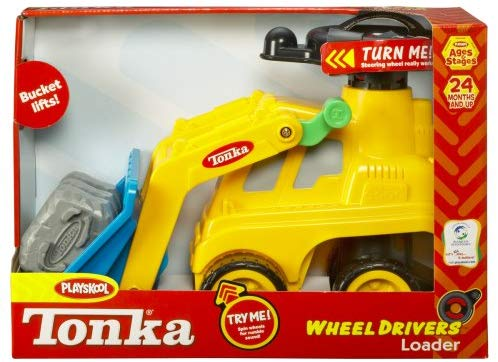 Playskool Tonka Wheel Drivers Loader