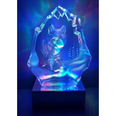 Wolf Body Iceberg Crystal Light