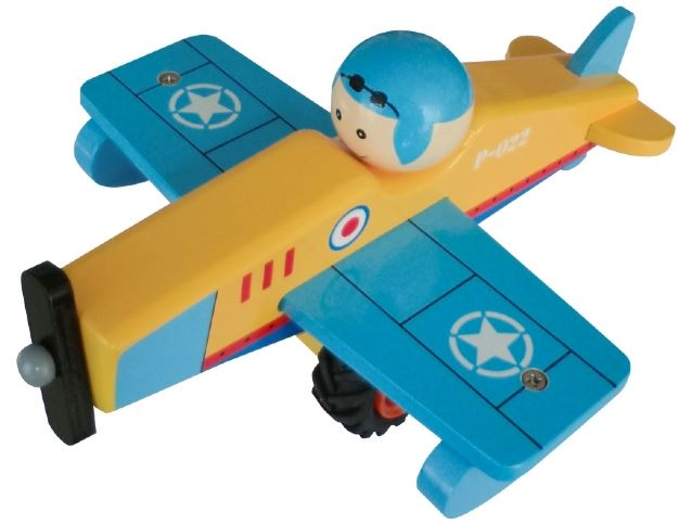 Toyslink Wooden Airplane