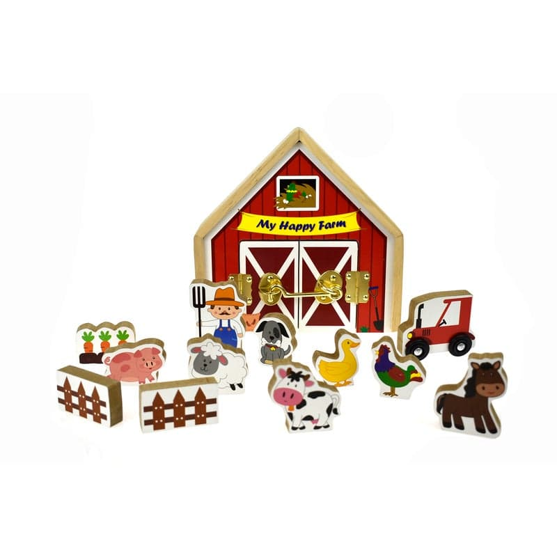 Kaper Kidz Metal Latch Playset-My Happy Farm