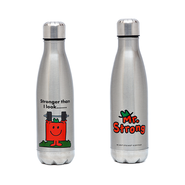 Mr Strong Stainless Steel Drink Bottle