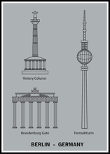 Ladda bilder till galleriet, Berlin-Germany poster