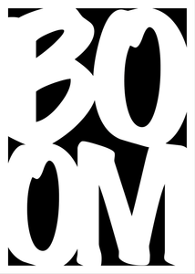 Boom poster