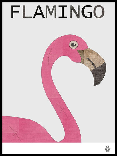Fabric Flamingo