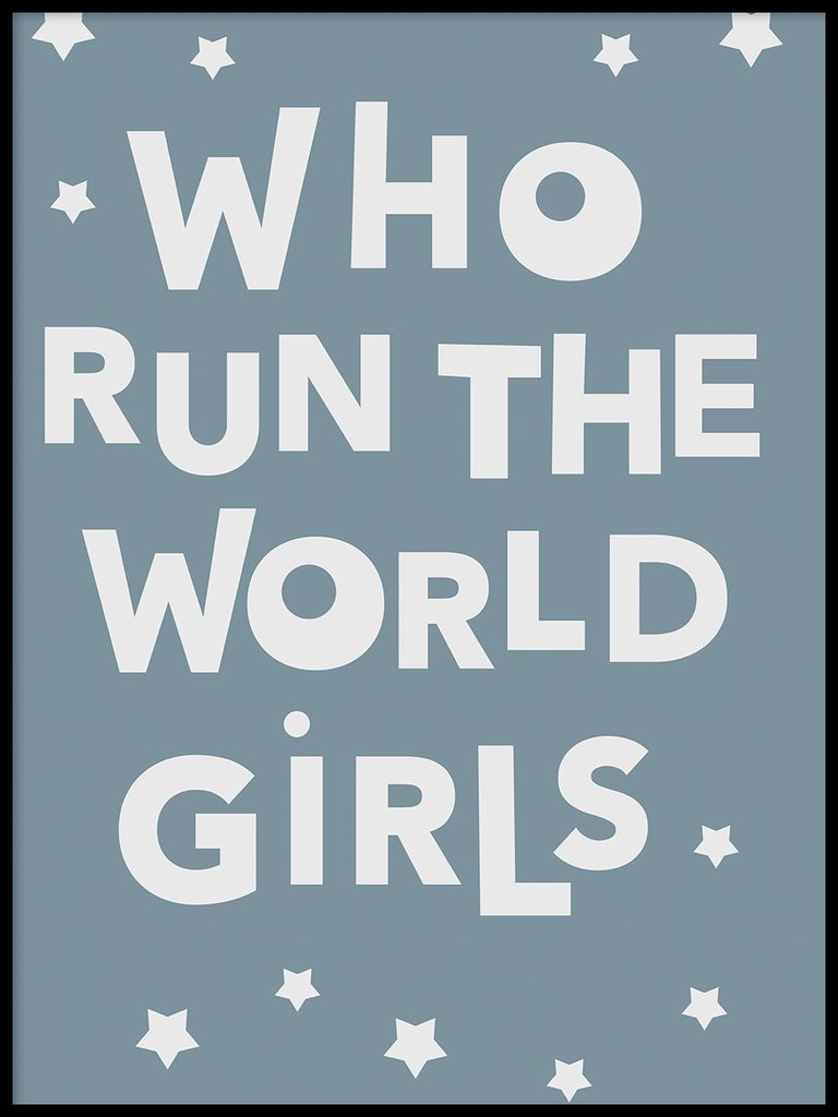 Who run the world girls - Poster