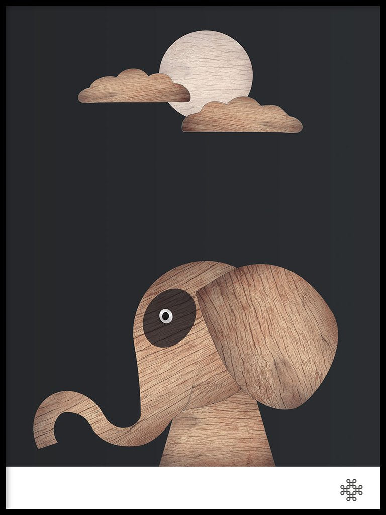 Wood Elephant, dark