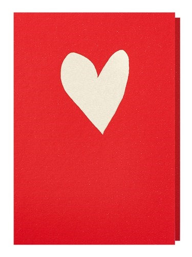Healthy Heart card: red