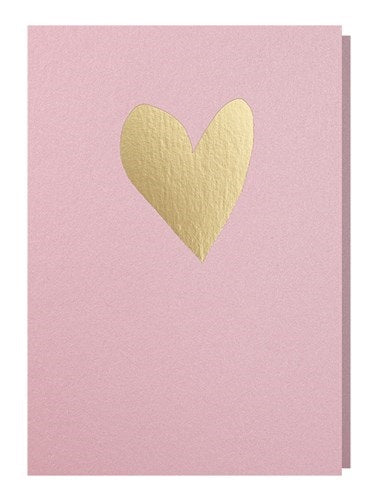 Healthy Heart card pink