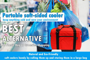 Soft Cooler Bags Keep Groceries Safe and Cold