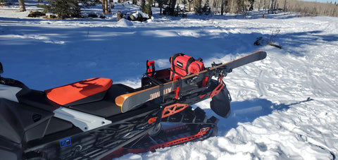 snowmobile cooler tunnel bag
