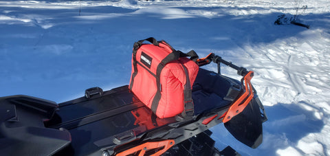 bag for snowmobile tunnel