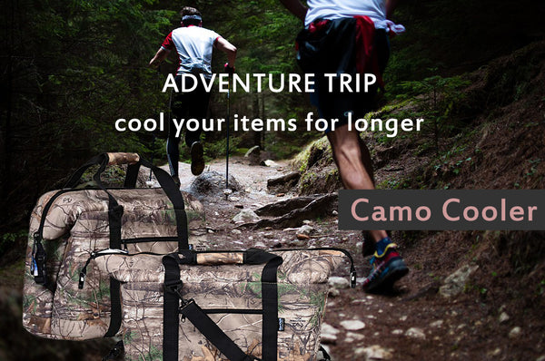 Camo Coolers for adventures
