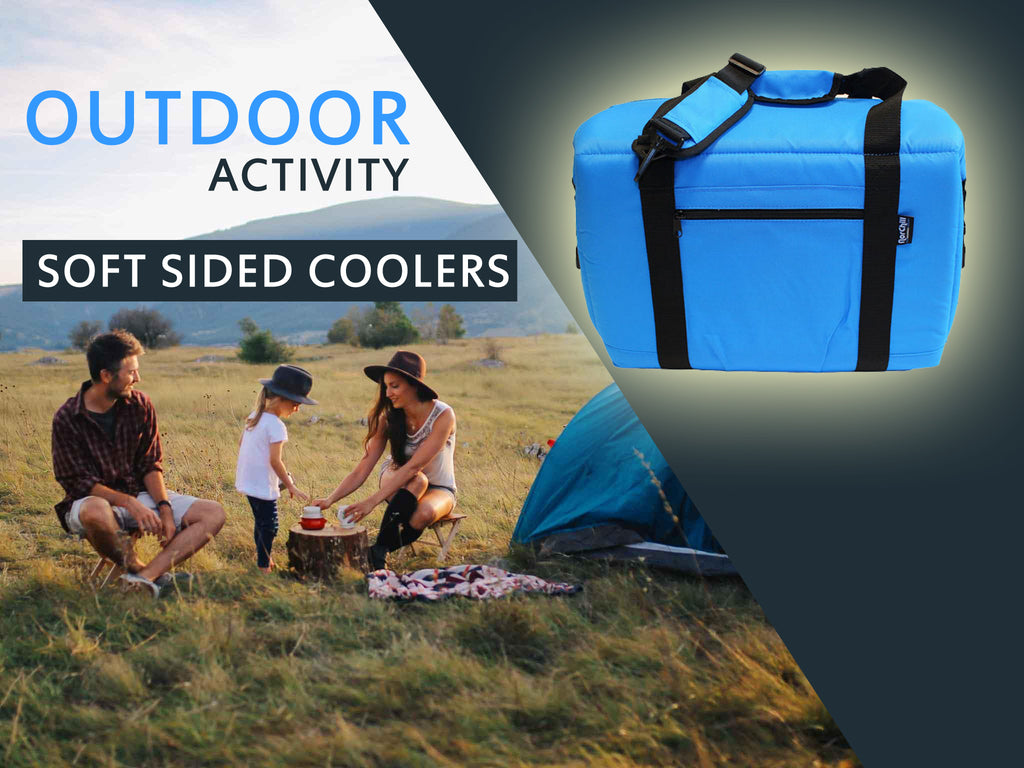 Outdoor activity coolers