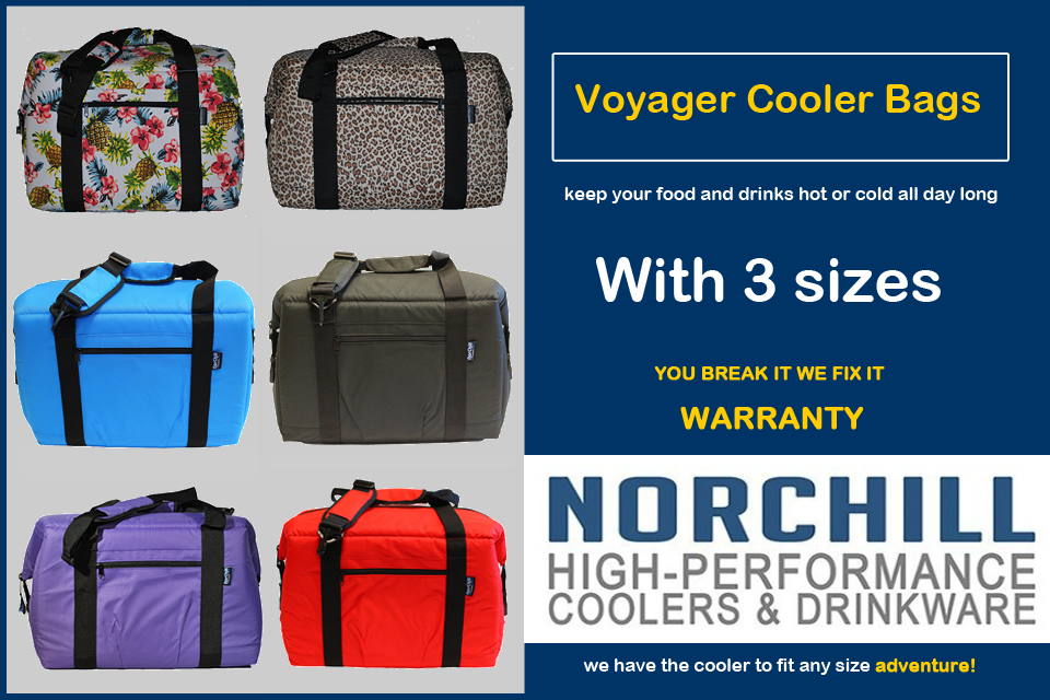 Voyager Series Insulated Cooler Bags