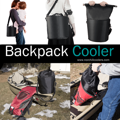 SlidePak Backpack Soft Cooler Bag