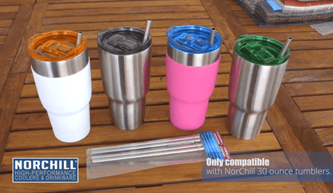 Heavy Duty Stainless Steel Straws