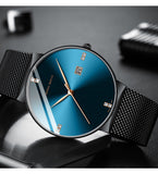 Men's Waterproof Calendar Watch