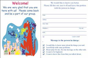 """Dragon"" Youth Visitor Cards"
