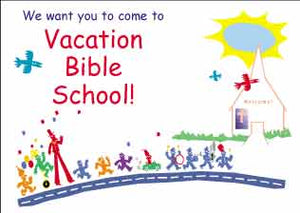 """You are invited!"" Vacation Bible School Postcards"