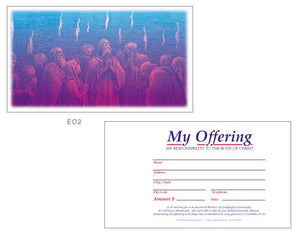 "Church Offering Envelopes ""My Offering"""