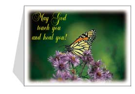 "Joycards ""May God Touch and Heal You!"""