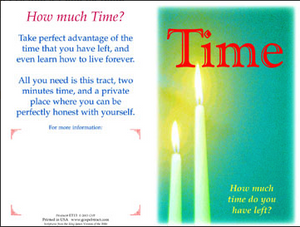 Time- How much do you have left?